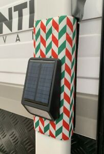 Awning Neoprene  Arm Tie Downs (Set of 4 ) With Built-In RED AND GREEN FLASHING