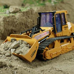 1:16  RC Excavator Shovel Remote Control Construction Bulldozer Truck Toy Light