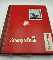 Vintage Stamp Collection BAHAMAS - Mixed Condition