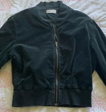 Mossimo Black Cropped Jacket Ladies Size 12