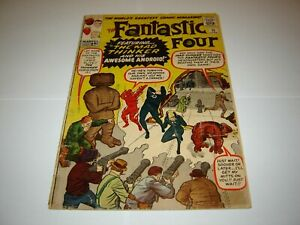 Fantastic Four #15, 1963,Silver Age  Marvel Comic - 1st appearance Mad Thinker