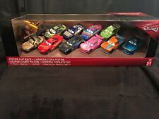 Disney Pixar Cars Piston Cup Race 11 Pack Rich Mixon Rotor Dirkson New