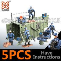 Mini Soldiers Military Special United SWAT Forces Building Blokcs Bricks Figures