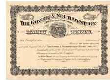 Gowrie & Northwestern Railway Company