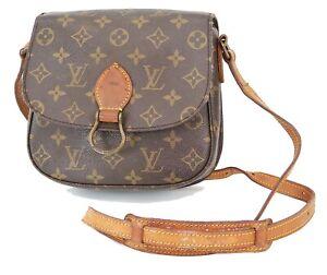 Authentic LOUIS VUITTON Saint Cloud MM Monogram Shoulder Bag #38217