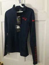 New England Patriots Nike Dri-Fit Women's NFL football Pullover Shirt - Ladies S