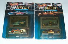 (2) 92 Hot Wheels NASCAR Rusty Wallace Grand Prix Jack Baldwin Z28 1:64 Die Cast