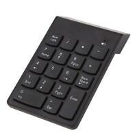 Mini Bluetooth Numeric Keypad Wireless Number Pad 18 Keys Keyboard for PC #JT1
