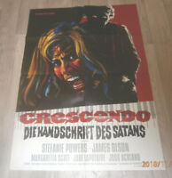 A1-Filmplakat  GRESCENDO DIE HANDSCHRIFT DES SATAN,STEFFANIE POWERS,JAMES OLSON