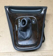 Volvo S80 OEM Gear Shift Indicator Selector Steptronic Boot Wood Cover Panel