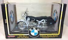 TootsieToy MIB 1:10 Scale 1960 BMW R60/2 in White w/ Accessories 3305
