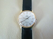 Omega De Ville 18K Solid Gold 34mm Automatic Watch