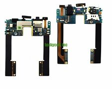 HTC Droid DNA Headphone Audio Jack Simcard Sim Tray Slot Holder Power Flex Cable