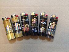 DENVER BRONCOS COLLECTIBLE SUPER BOWL 50 BIC LIGHTERS (6) NEW
