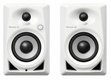 "Pioneer DM40 4"" Desktop Monitor Speakers - White"