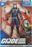 COBRA COMMANDER G.I. Joe Classified Series  6' Figure IN HAND