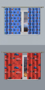 DISNEY CARS , PLANES CHILDREN BEDROOM CURTAINS MATERIAL