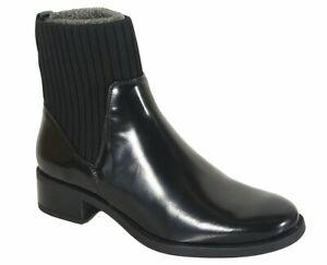 reduzierung Unisa Ellen chelsea boots black soft glass