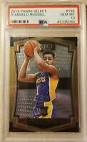POP 6 -- 2015 Select Premier D'Angelo Russell ROOKIE RC #162 PSA 10