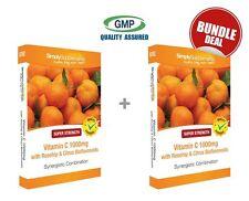 Vitamin C 1000mg with Rosehip & Citrus Bioflavonoids 120+120 Tablets BUNDLE DEAL