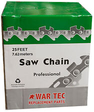 3/8 1.3mm (050) 25 Ft Roll - Chainsaw Chain 25ft Foot Roll