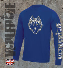 Cammo wolf long sleeve mtb jersey, wicking, performace, technical bike top, dh