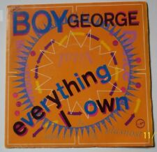 "BOY George Vinyle 45 T  2 Titres"" Everything i own ""  VIRGIN"
