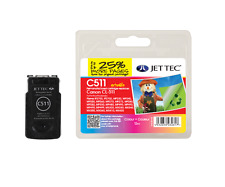 CANON PIXMA COLOUR CL-511 REMANUFACTURED INK CARTRIDGE BY JETTEC 12ML