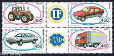 ITALIA 1 BLOCCO AUTOMOBILISTICHE ITALIANE AUTO VEICOLI 1984 nuovo**