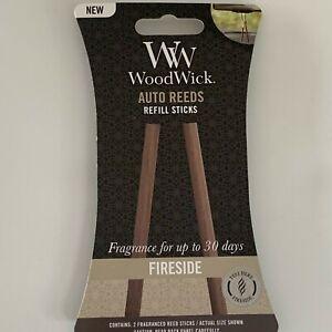 WW WoodWick Auto Reeds Refill Sticks Car Freshener 30 Days Fragrance U Pick