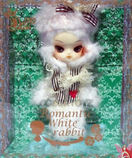 Romantic White Rabbit Little DAL Pullip Small Mini Size Doll 545