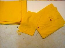 3 PIECE Industrial YELLOW RAINSUIT 0.20MM 4XL SIZE NEW IN BAG