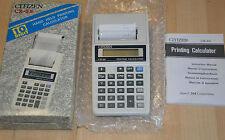 Calculatrice Citizen CX 55 - complète en boîte comme neuve / Printing Calculator