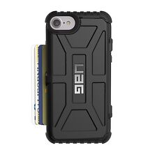 Urban Armor Gear UAG Trooper Card Outdoor Case Cover für iPhone 7 Plus schwarz