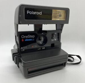 Vintage Polaroid OneStep Close Up Camera w/ Camera Bag - Great Condition