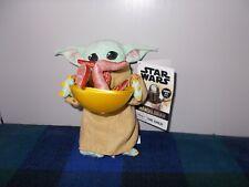 Disney Star Wars Mandalorian Baby Yoda The Child with Squid plush FREE UK POST