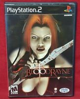 Bloodrayne - Blood Rayne  PS2 Playstation 2 COMPLETE Game 1 Owner  Mint Disc