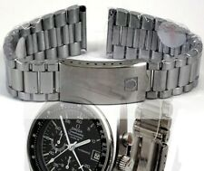 OMEGA New MARK IV Speedmaster Stainless Deployment Logo Bracelet Marked Referenc