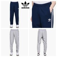 AdidasJoggers Mens Sweatpants Originals Trefoil 3 Stripe Fleece Bottoms Trouser