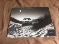 2000 Mercedes Benz C Class USA Market Color Brochure Catalog Prospekt