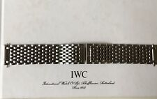 Original IWC Stahlband Fliegerchronograph 3741 Bracelet Steel 18mm for Mark XII
