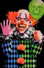 Evil Clown Blacklight Poster Blacklight Poster Print, 23x35