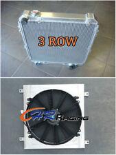 aluminum radiator + Shroud + Fan for Toyota Hilux surf KZN130 1KZ-TE AT/MT 93-96