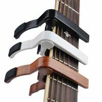 Aluminum Alloy Quick Change Clamp Clip Acoustic Classic Electric Guitar Capo Vb