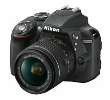 Nikon D3300 DSLR 24.2 MP HD 1080p Camera With 18-55mm Lens