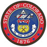 COLORADO STATE SEAL VINYL FLAG DECAL STICKER  MULTIPLE SIZES TO CHOOSE FROM