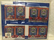 1992 UPPER DECK BASEBALL CARDS 8PKS  WITH LIMTD EDITION COMMEMORATIVE SHEET,NEW
