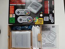 Super Nintendo Classic Mini SNES Konsole mit 21 Spielen NEU OVP