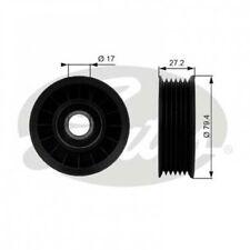 GATES Deflection/Guide Pulley, v-ribbed belt DriveAlign® T38009