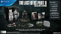The Last of us Part II 2 COLLECTOR'S EDITION PS4 Playstation 4 + Ellie Statue